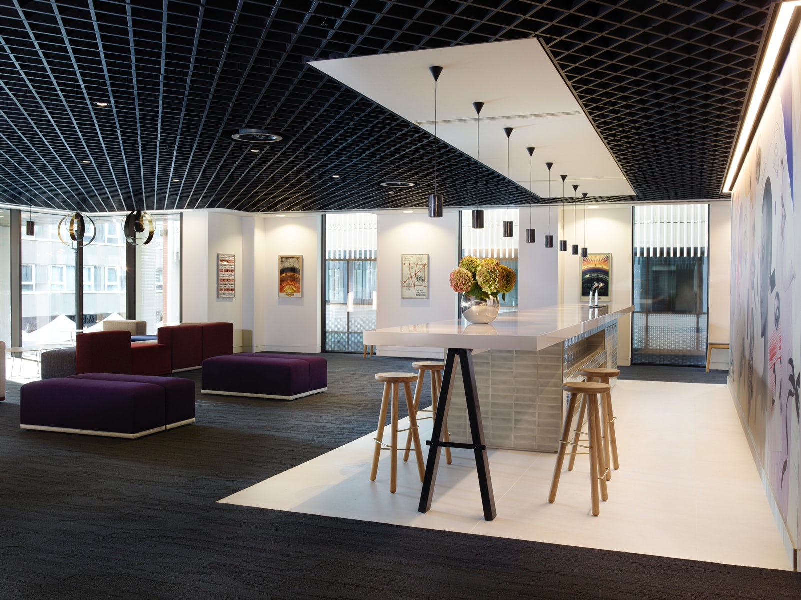 The Estée Lauder Companies' UK office at One Fitztroy | Source: Courtesy