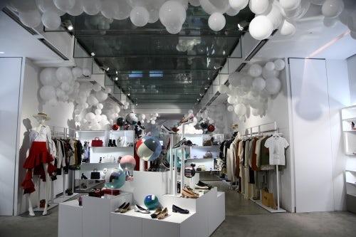 Luisa Via Roma在佛罗伦萨的门店内部 | 图片来源:对方提供
