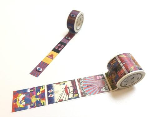 Tadanori Yokoo masking tape, Art for All at Uniqlo | Source: Courtesy