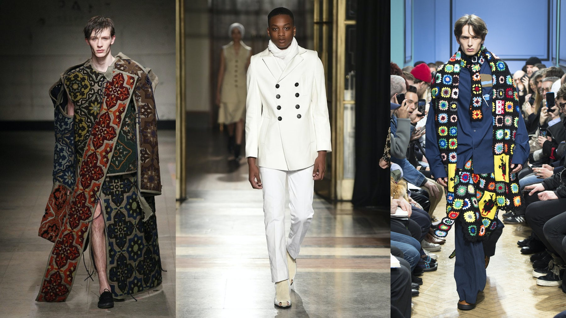 Hope Trumps Fear at the London Men's Shows