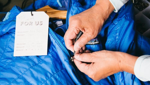 Patagonia Worn Wear Initiative