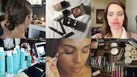 From top left: Instagram/@hairbyadir, Instagram/@jeaninelobell, Instagram/@rachel_goodwin, Instagram/@renatocampora, Twitter/@carolagmakeup, Instagram/@mollyrstern