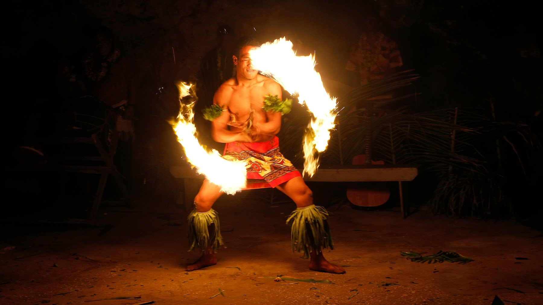 Tongan fire dancer   Source: Shutterstock
