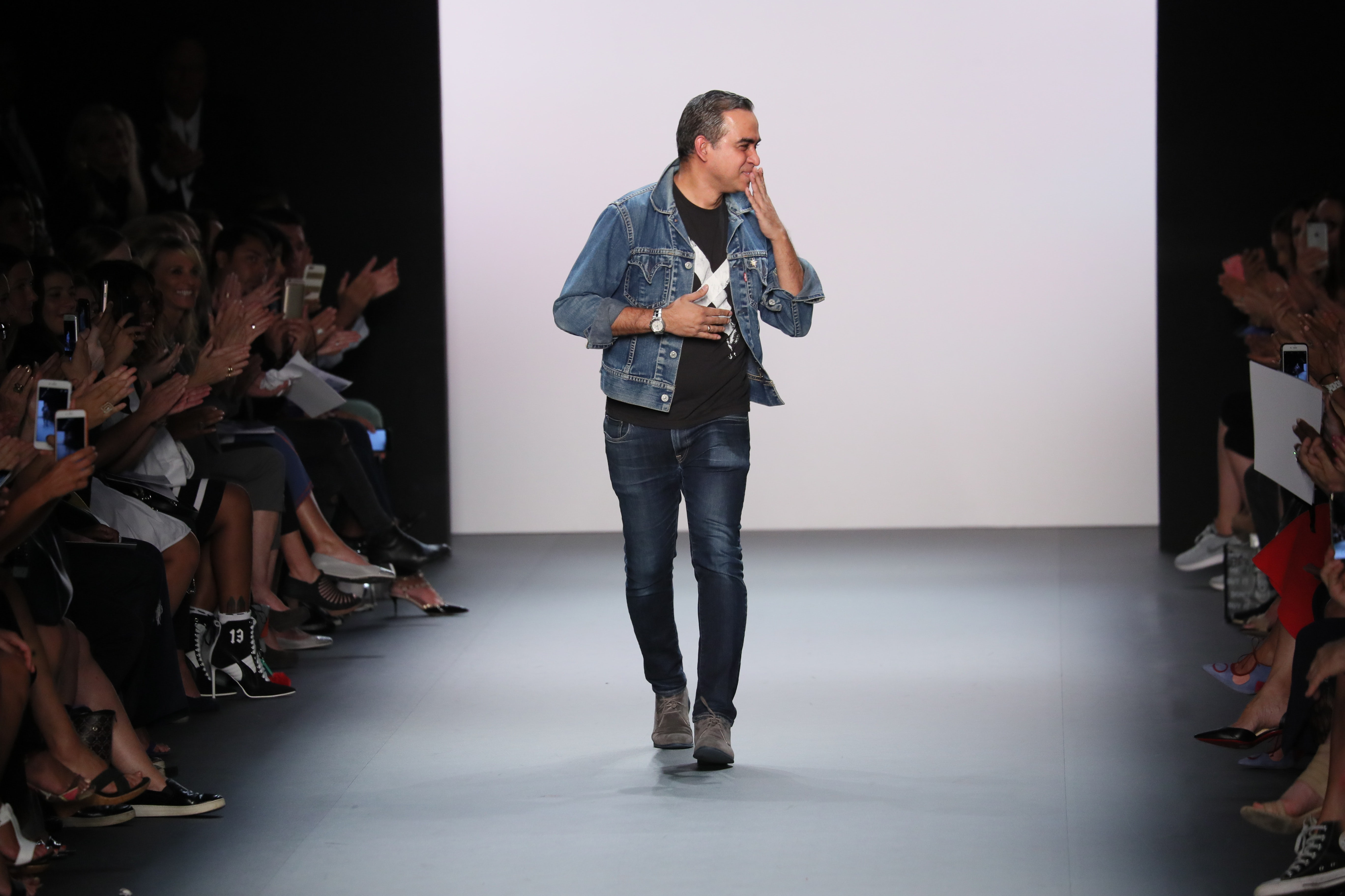 Bibhu Mohapatra at his New York Fashion Week show in September 2016 | Source: Shutterstock