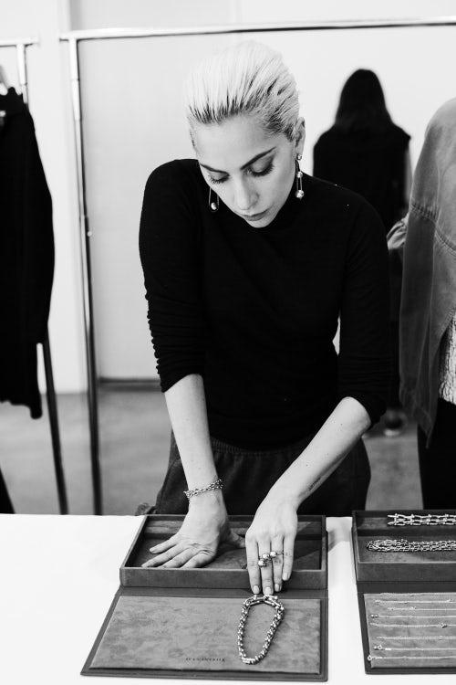 Lady Gaga Tiffany campaign