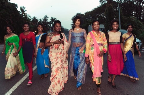 Hijras in Kochi India | Photo: Amanda Fordyce