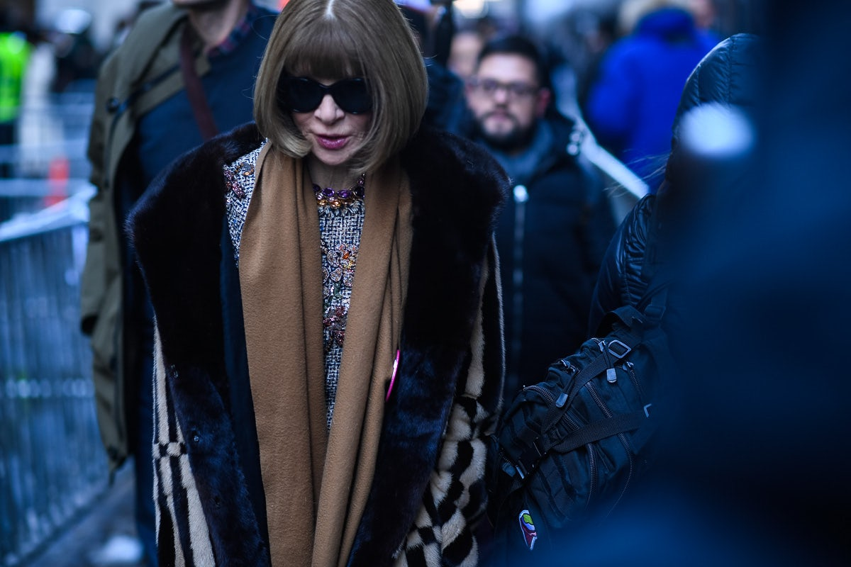 Anna Wintour | Source: Hugo Lee