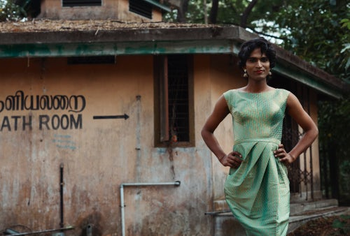 Shoot styled by Annah Chakola with hijra casting in Kochi, India | Photo: Amanda Fordyce