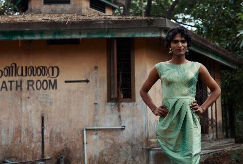Shoot styled by Annah Chakola with hijra casting in Kochi, India | Photo: Amanda Fordyce