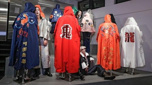 陈安琪上海冲锋衣展览   图片来源:对方提供
