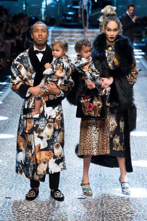 Dolce & Gabbana Autumn/Winter 2017 | Source: InDigital.tv