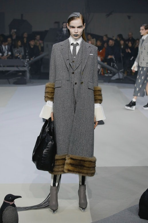 Thom Browne Autumn/Winter 2017 | Source: InDigital.tv