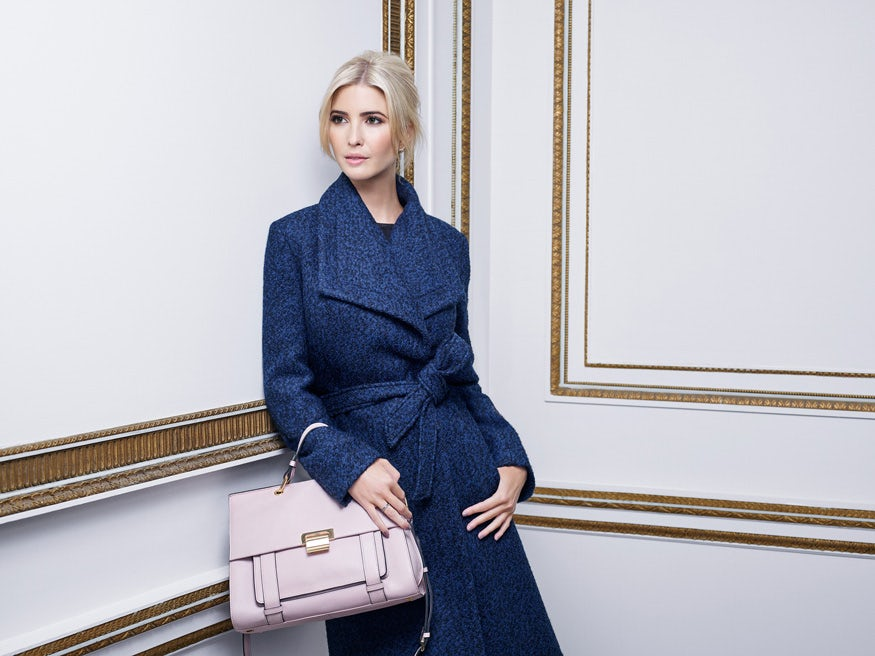 Ivanka Trump for her eponymous fashion line | Source: Ivanka Trump