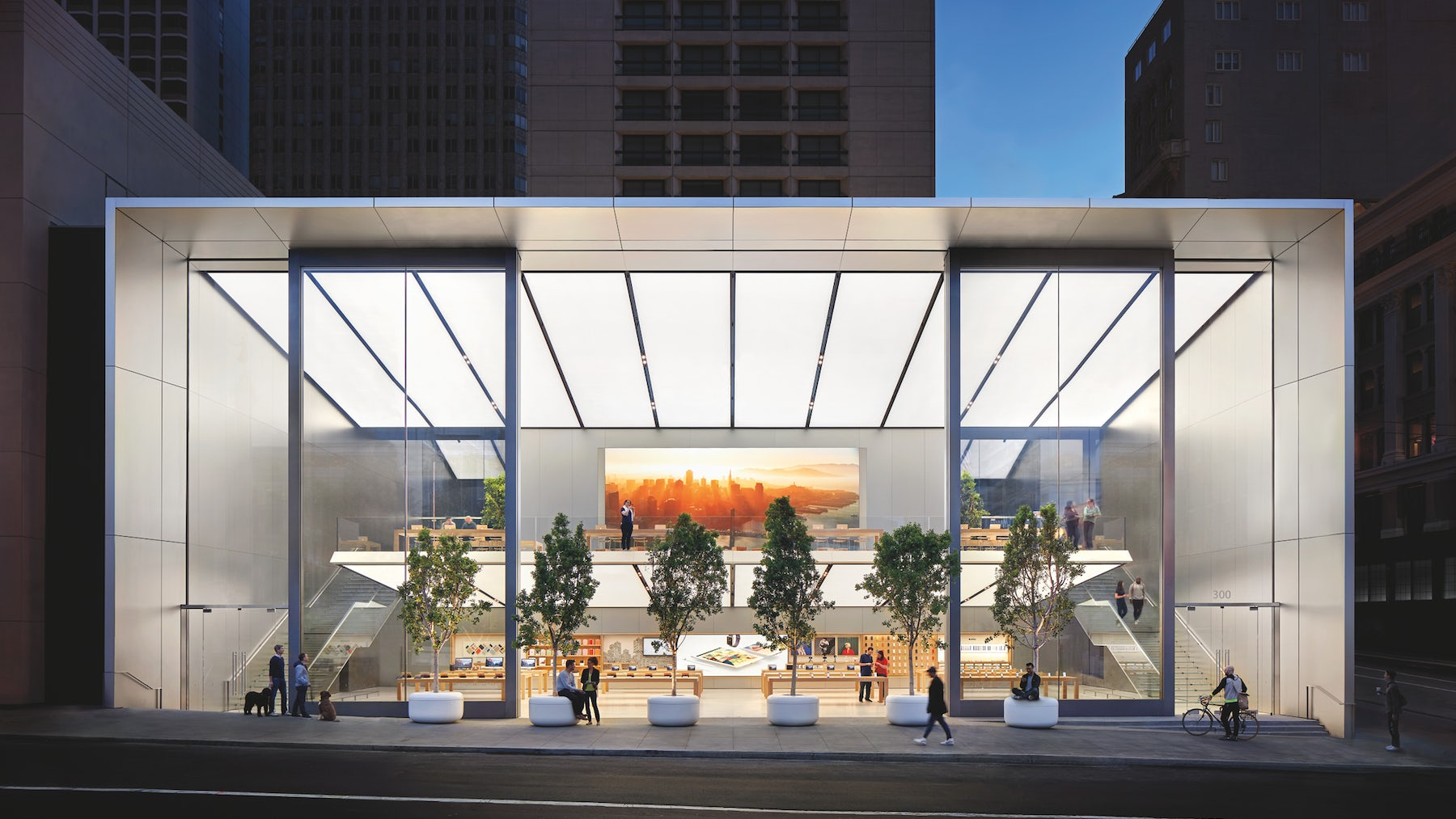 Apple's new flagship store in Union Square, San Francisco | Source: Apple