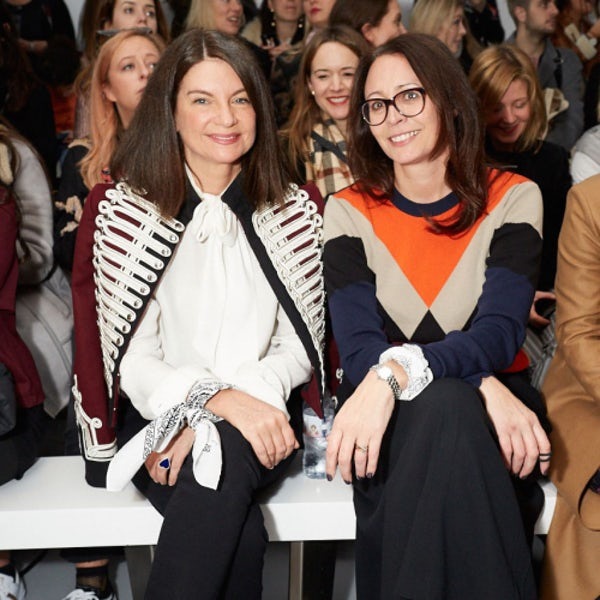 Natalie Massenet, the British Fashion Council's chairman, and Caroline Rush, chief executive | Source: Courtesy
