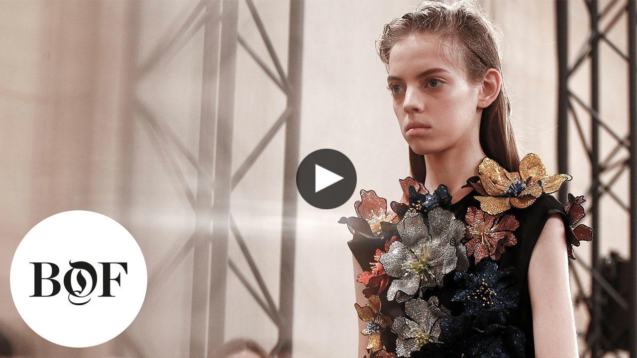 Video: Christopher Kane Autumn/Winter 2017