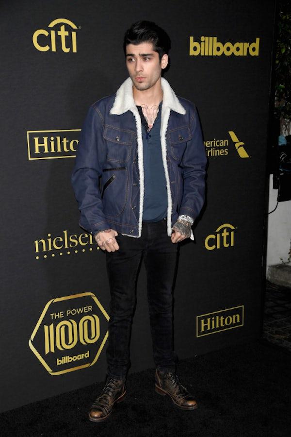 Zayn Malik at the Billboard Power 100 | Source: Getty Images
