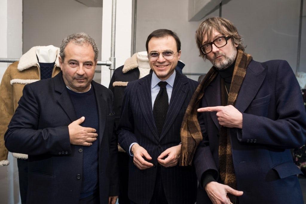 Jean Touitou, Bertrand Burgalat and Jarvis Cocker | Source: Courtesy