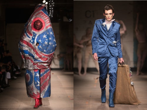 Charles Jeffrey Autumn / Winter 2017 | Source: InDigital.tv