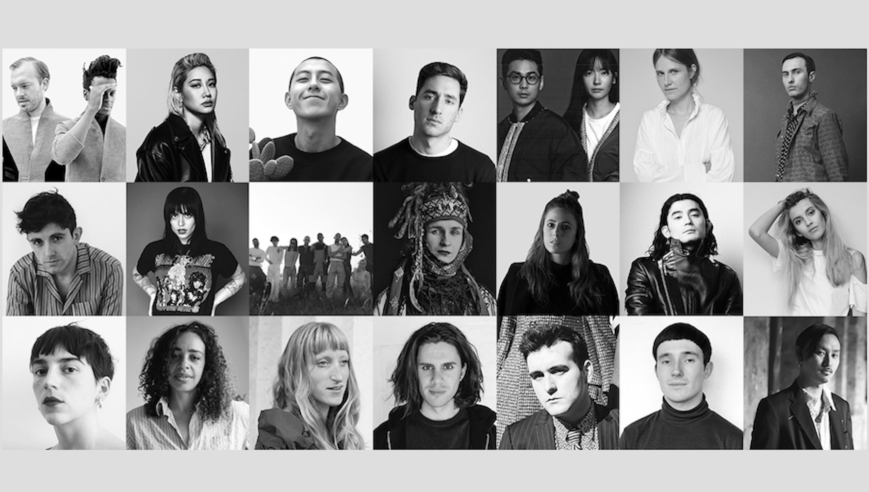 The designers shortlisted for the LVMH Prize | Source: Courtesy
