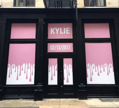 The Kylie Cosmetics pop-up  in New York | Source: Instagram/Kylie Jenner