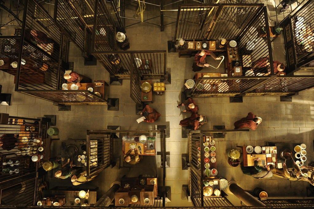 叶锦添的《Kitchen》是上一届ASVOFF中,Diane Pernet最喜欢的时装电影之一 | 图片来源:ASVOFF
