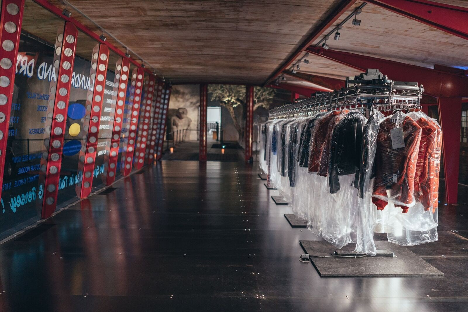 Vetements Dry Cleaning rack | Source: Courtesy
