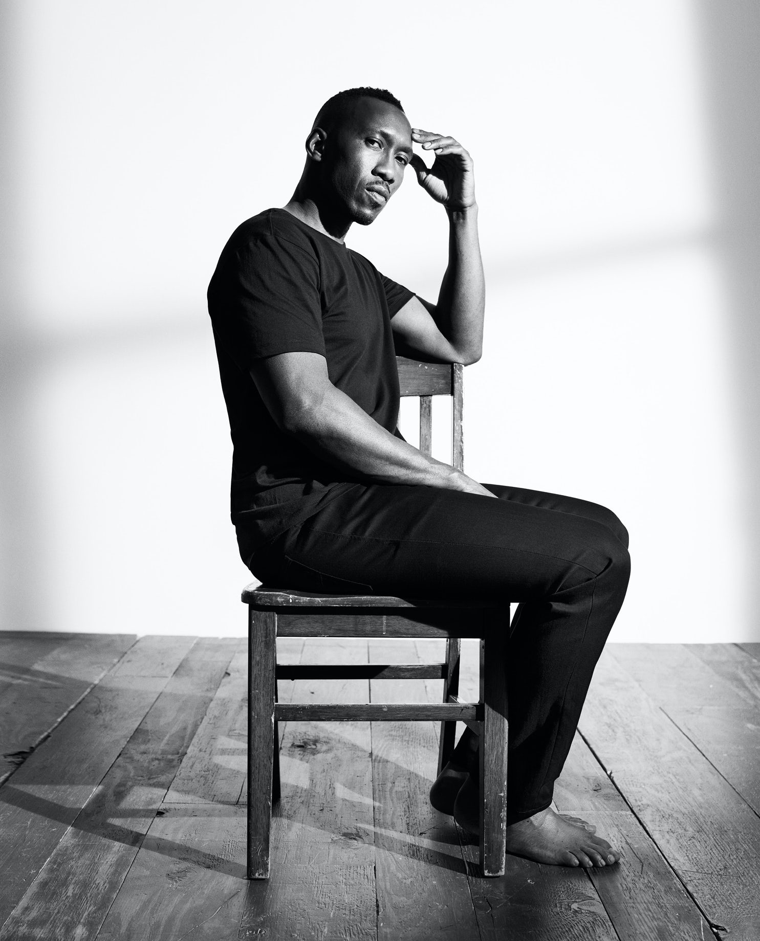 Moonlight actor Mahershala Ali stars in Calvin Klein's latest campaign, shot by Willy Vanderperre | Source: Courtesy