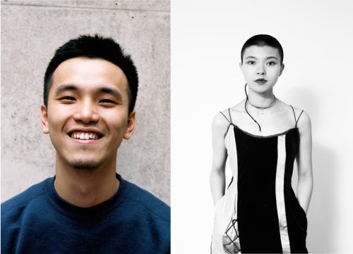 Designers Zu Zhi (left) and Angel Chen (right) | Source: Courtesy