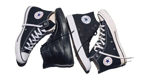 The Classic Chuck, Chuck Modern Lux, Chuck II and Chuck '70. | Source: Courtesy