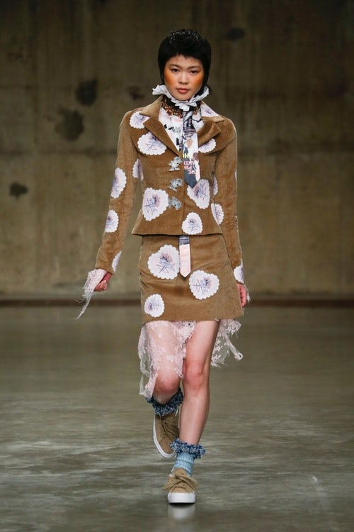 At Fashion East: Bright Young Things' Dystopian Future