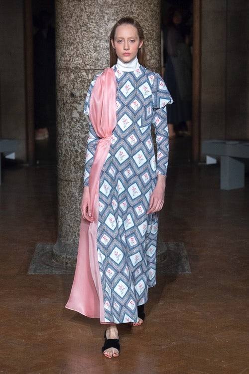 Oh So Modest at Emilia Wickstead