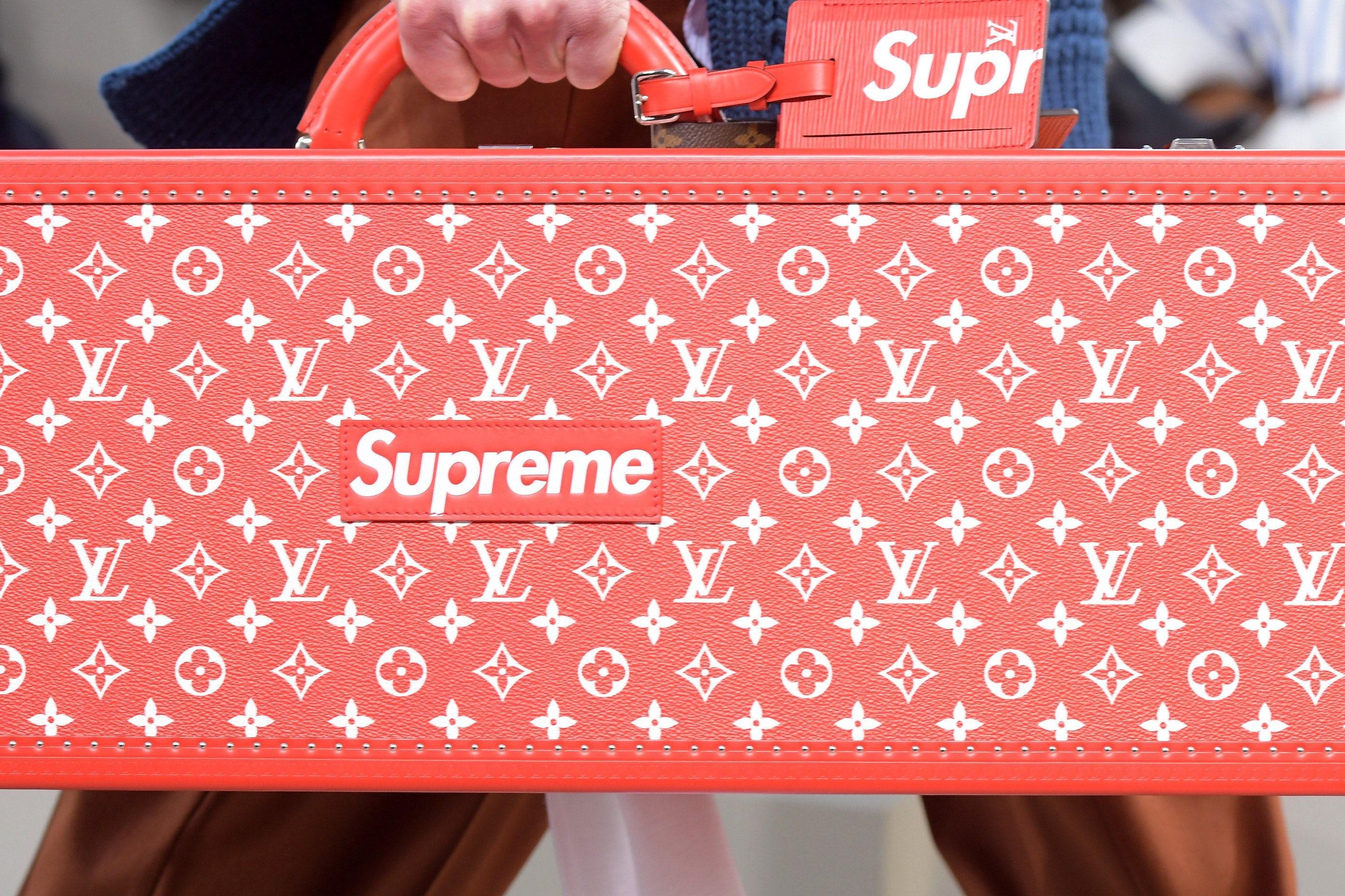 Supreme x Louis Vuitton | Source: Shutterstock