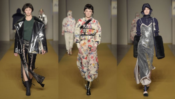 A selection of looks from Angel Chen's AW'17 show at  Milan Fashion Week, supported by Mercedes-Benz   Source: Courtesy