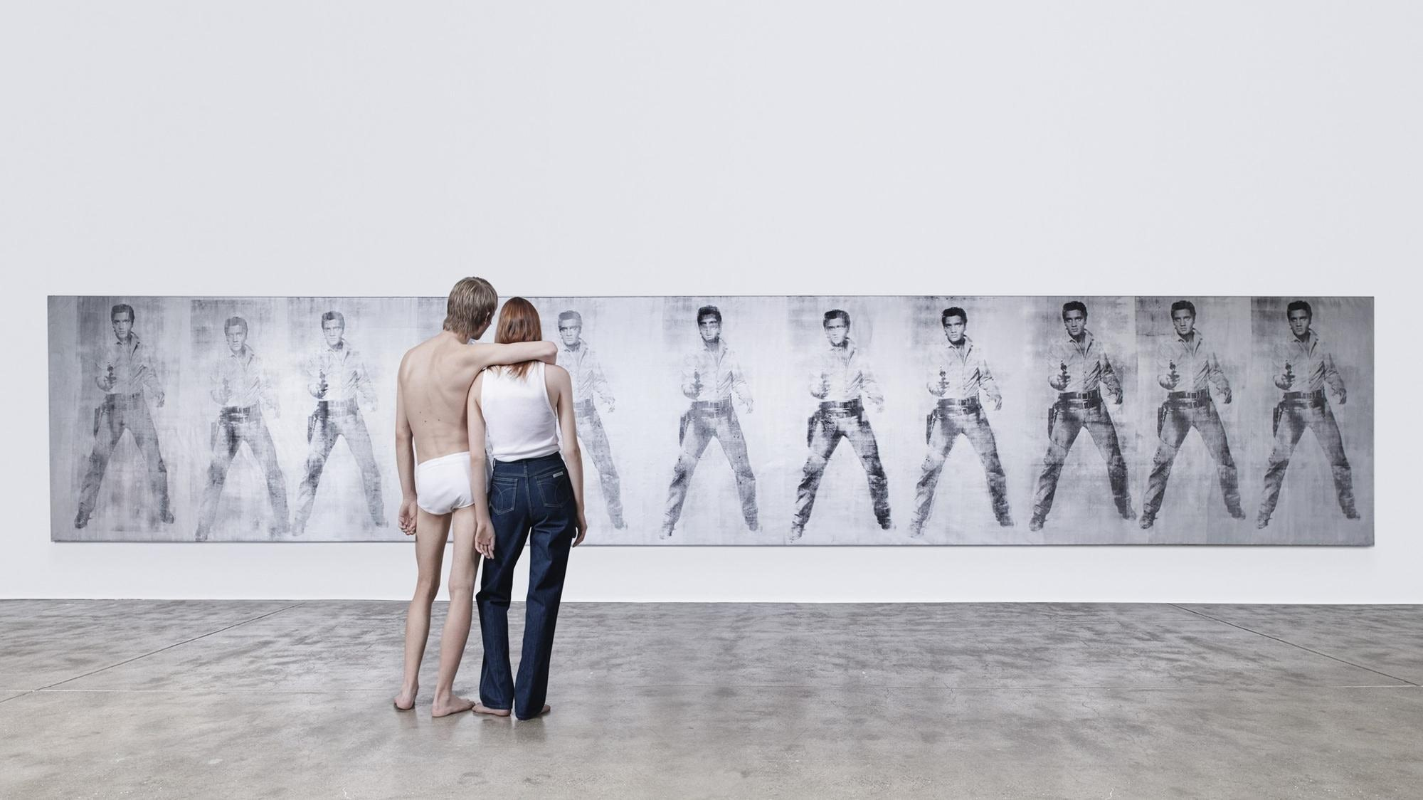 Raf Simons' first underwear and denim campaign for Calvin Klein | Source: Courtesy