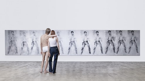 5f5560b6 Raf Simons' first underwear and denim campaign for Calvin Klein | Source:  Courtesy