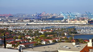 Port of Long Beach California imports and exports trade facility   Source: Shutterstock