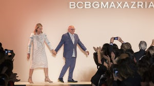 Designer Max and Lubov Azria walk the runway at the BCBG Max Azria fashion show during the Spring Summer 2016  | Source: Shutterstock