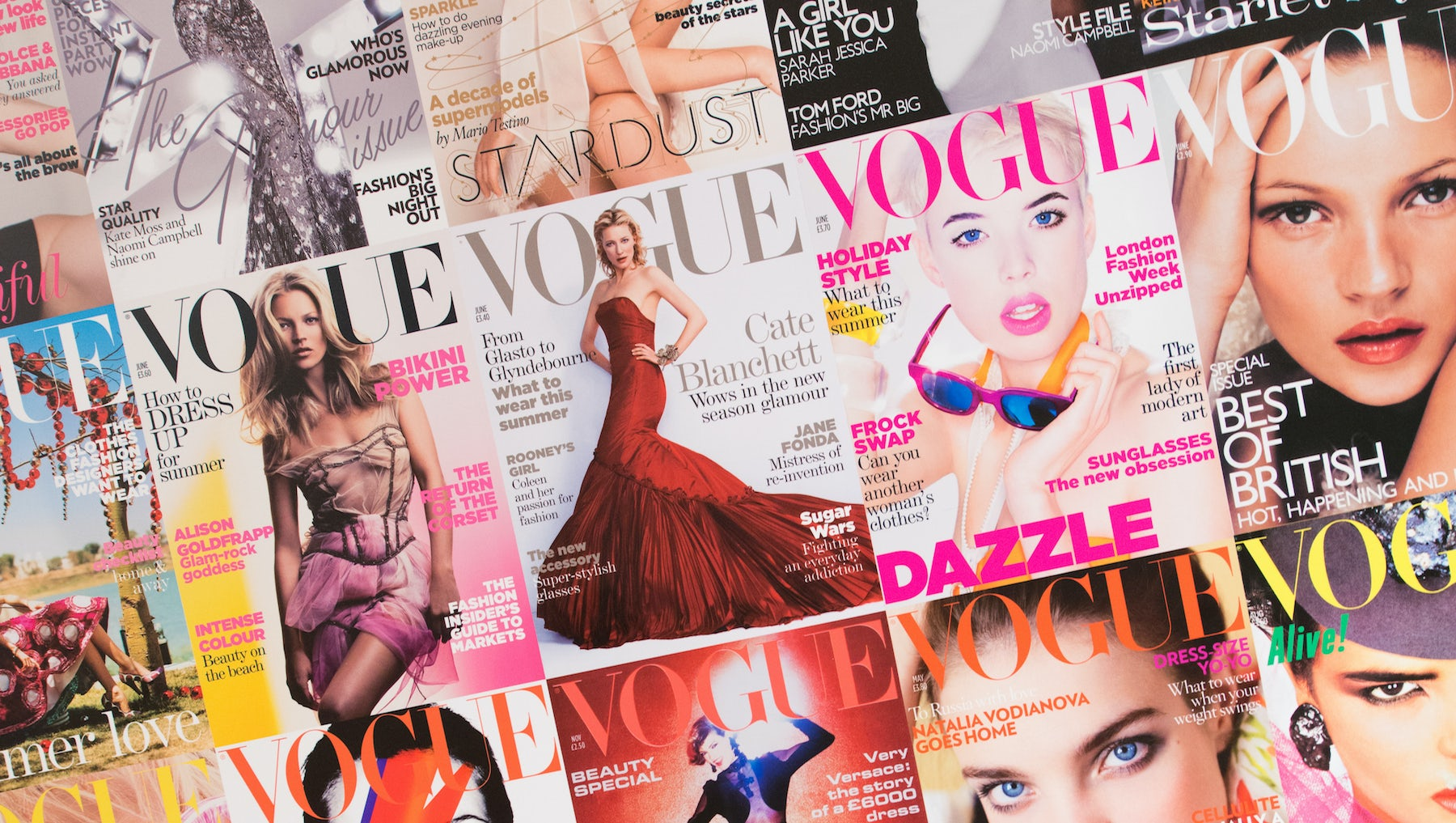 Covers of Vogue Magazine | Source: Shutterstock