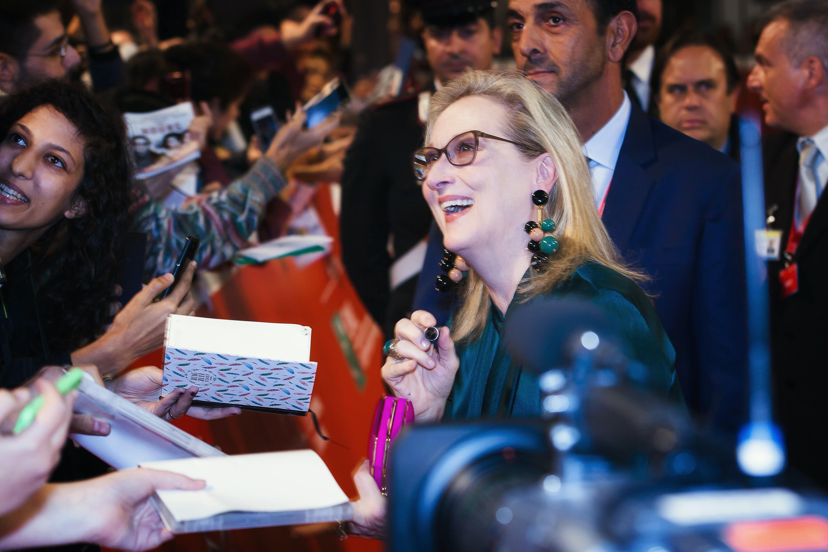 Meryl Streep on the red carpet in 2016   Source: Shutterstock