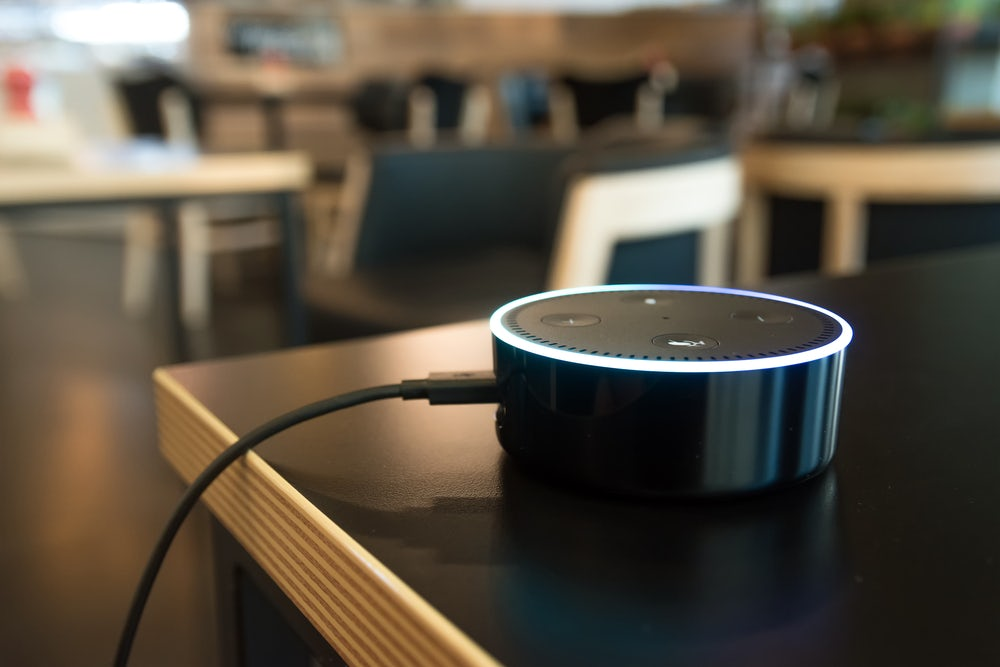 Amazon Echo Dot | Source: Shutterstock