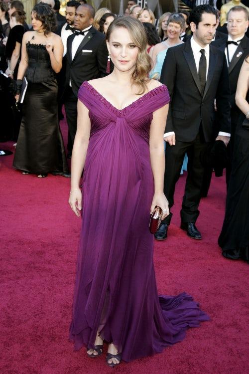 Natalie Portman in Rodarte at the 2011 Academy Awards | Source: Shutterstock