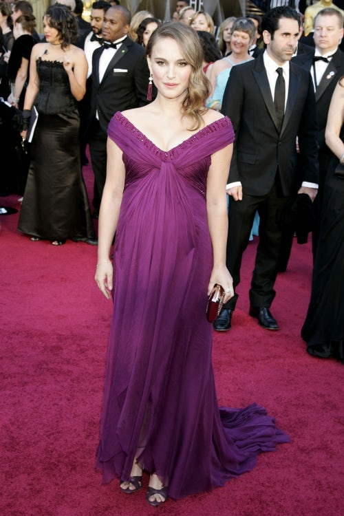 Natalie Portman in Rodarte at the 2011 Academy Awards | Source: Shutterstock