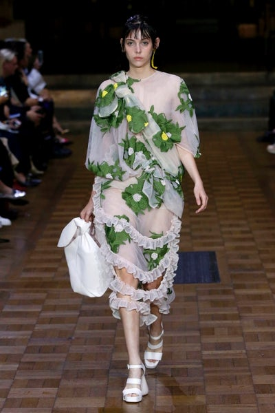 A look from Simone Rocha Spring 2017. | Source: INDIGITAL