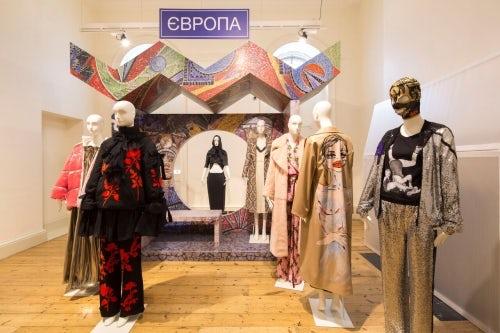 International Fashion Showcase Ukraine exhibit | Photo: Agnese Sanvito