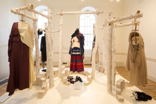 International Fashion Showcase India exhibit | Photo: Agnese Sanvito