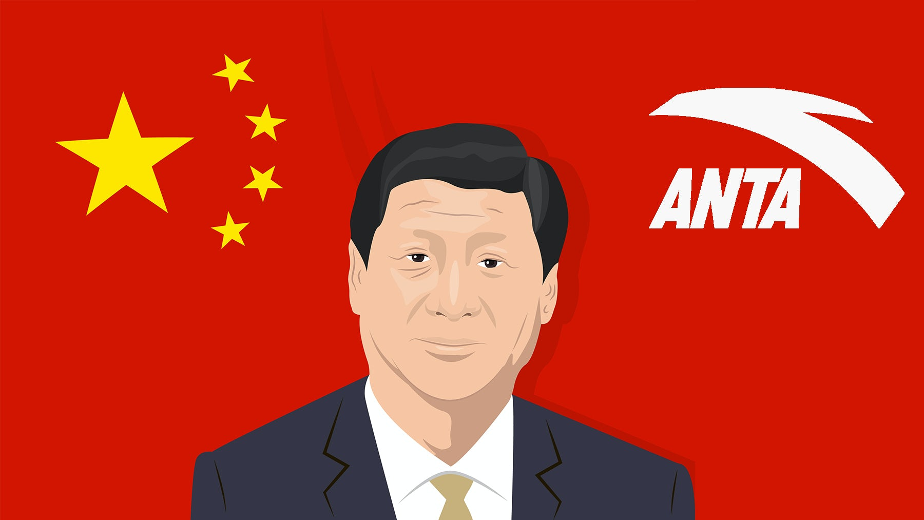 China's Sportswear Giant Anta Gets Presidential Plug