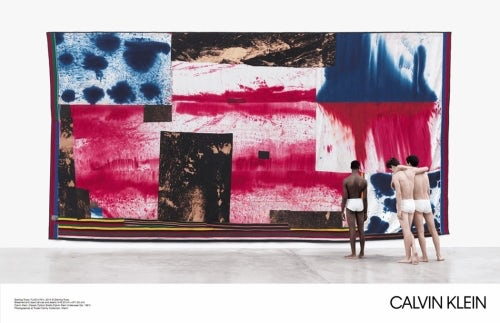 Calvin Klein American Classics Spring/Summer 2017 campaign featuring art by Sterling Ruby | Source: Courtesy