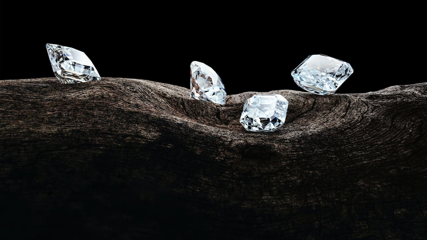 Manmade diamonds created by Diamond Foundry | Source: Diamond Foundry