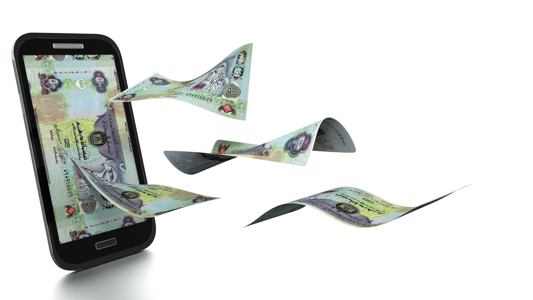 3D Rendered UAE Dirham | Source: Shutterstock